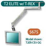 T2-Elite LCD ceiling mount