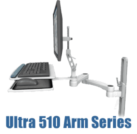 Ultra 510 articulating monitor arm