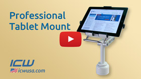 Professional Tablet Mount video