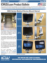 Medical Device Mount Swivel