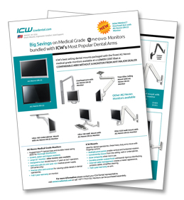 SPECIAL OFFER: Neovo Monitors with ICW Arms