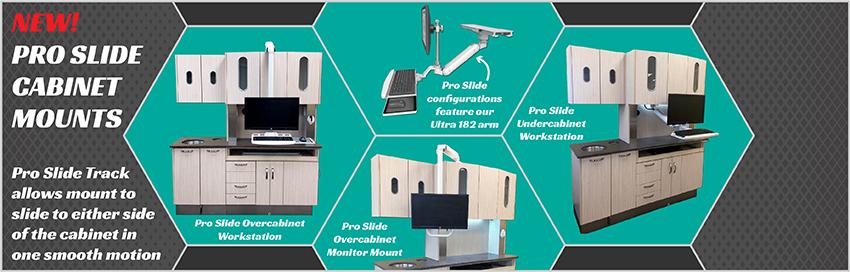Pro Slide Cabinet Mount