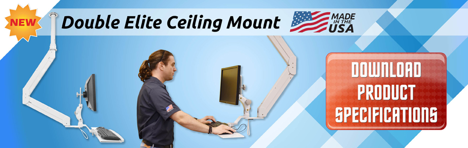 ELP6220 Double Elite Ceiling Mount