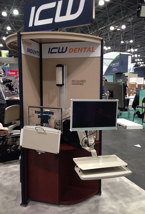 ICW display at Greater New York Dental Meeting 2016