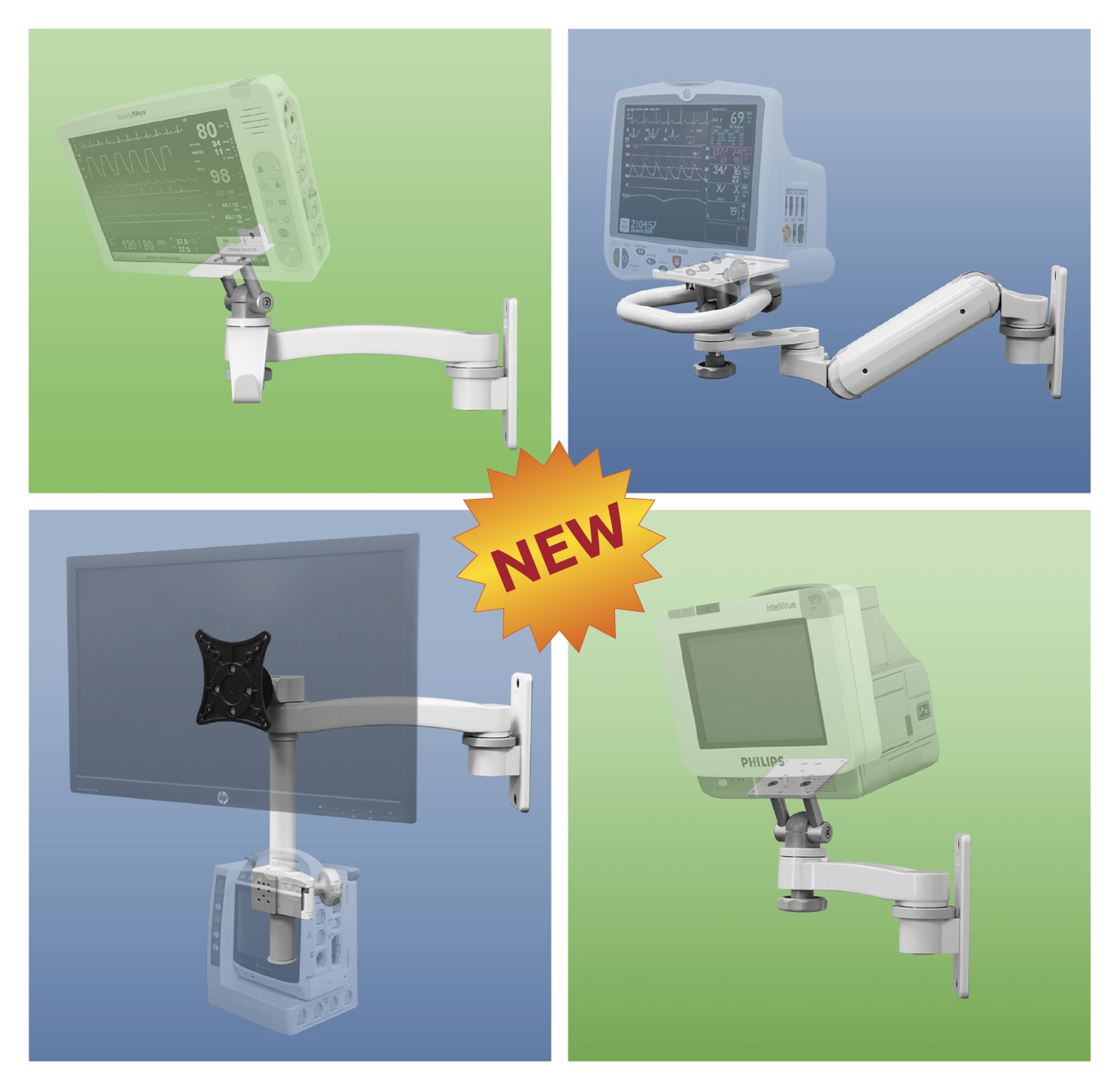 New Medical Device Mounts