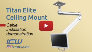 Titan Elite Ceiling Mount, Cable Management Video