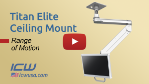 Titan Elite Ceiling Mount Range of Motion Video