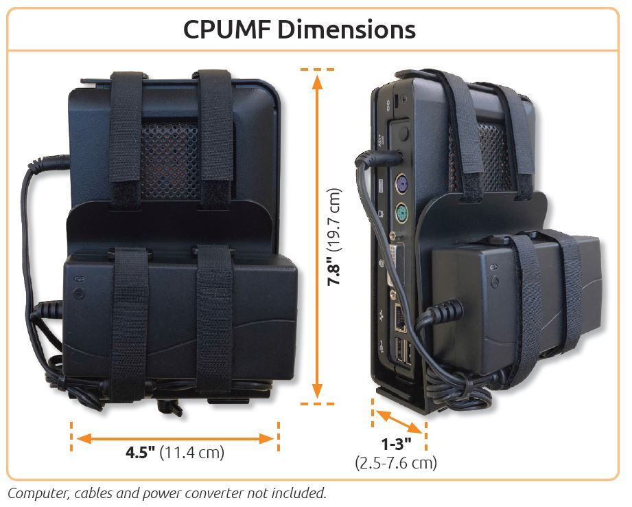 CPUMF - Small Form Factor Computer Mount