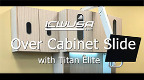 Over Cabinet Slide Titan Elite