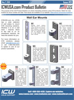 Wall Ear Mounts