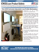TSL-KVW Low Profile Workstation